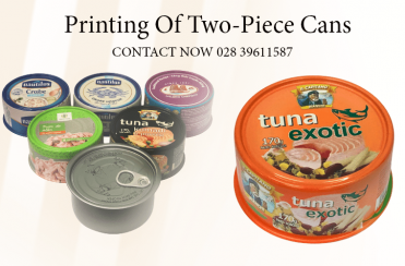 Printing Two Piece Cans - Metal Packaging
